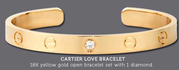 archive love size rose cartier bracelet