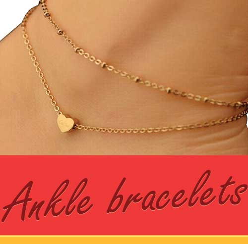 gold silver less overstock subcat jewelry watches anklet bracelet over anklets beaded for ankle tailored bracelets