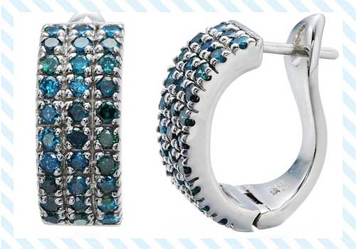 Topaz Stud Earrings