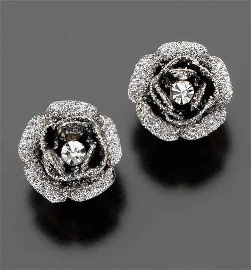 new product stud and stocker multi dia colored diamond earrings jewelers herteen