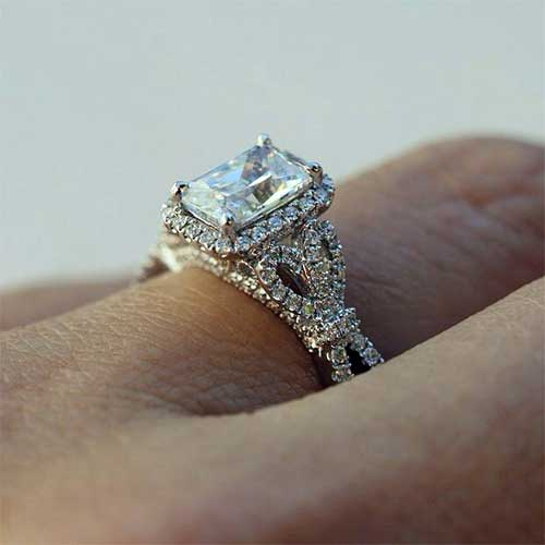 Diamond Wedding Rings Vintage