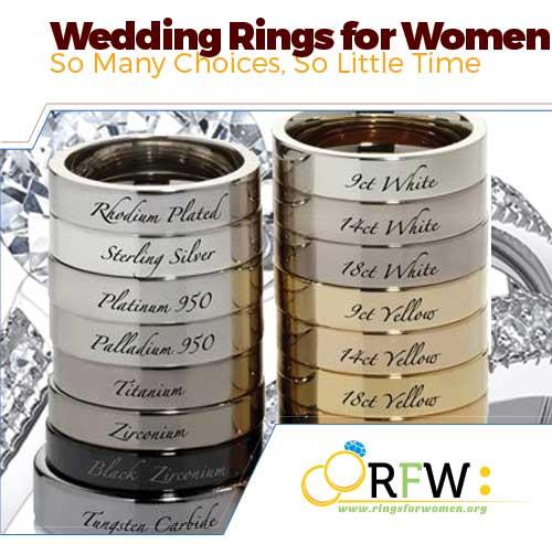 wedding rings for women types - Wedding Ring Types