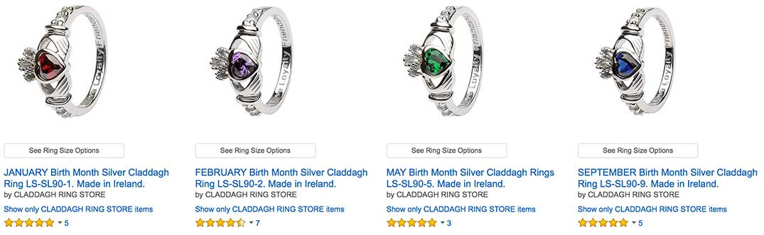 How Much Are Claddagh Rings In Ireland