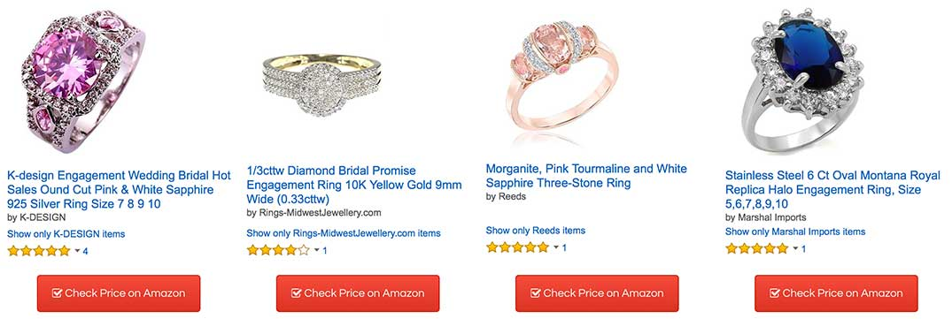 ideas blog engagement colored rings stone proposal different