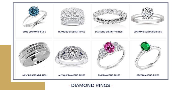 Styles of Diamond Rings
